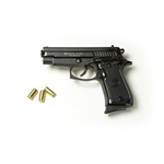 P29 Semi Automatic 9mm Blank Firing Pistol Black Finish 2438-7029