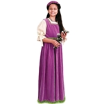 Girls Maiden Dress with Matching Burlet Circlet 26-101570