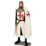Knights Templar Hooded Crusader Cape 26-101595