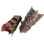 Gothic Leather Vambraces