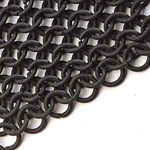 Blackened Steel Chainmail Shirt 26-300058