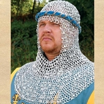 Riveted Aluminum Chainmail Armor Coif 26-300150