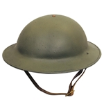 US M1917 Doughboy Helmet with Liner WWI Reproduction
