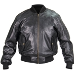 US MA-1 Leather Flight Jacket - 1950's 760012
