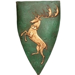 Game of Thrones Shield Pin Baratheon (Renly) 286-22-174