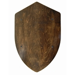 Wooden Medieval Heater Shield