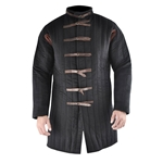 Black Buckle Closure Gambeson, XXL