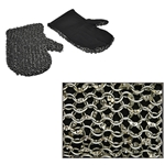 Padded Chainmail Mittens Dome Riveted Rings 29-AB2753