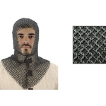 Chainmail Coif V-Shape Face 29-AB2806
