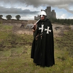 Hospitaller Cloak Wool and Linen  29-GB0135