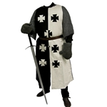 Black and White Crusader Surcoat 29-GB0205