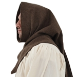Cowl Style Headwear Brown Wool L GB3312 Get Dressed For Battle