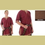 Viking Shirt, Brown, XL Tunic
