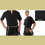Medieval Tunic, Black, sz Extra Extra Large 29-GB3621