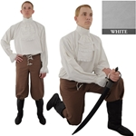 Napoleonic Shirt, White Extra Extra Large 29-GB3914