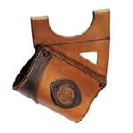 LeatherWorks Brown Leather Sword Hanger, Right Hand