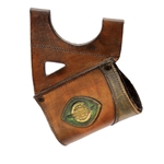 LeatherWorks Brown Leather Sword Hanger, Left Hand