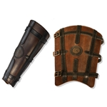 Leather Warrior Greaves