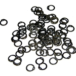 Loose Chainmail Rings - Flat Ring Dome Riveted - Code 4 29-OB2341