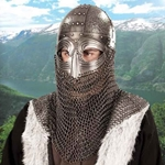 Spangenhelm, Straight Nasal, Medium AB0415