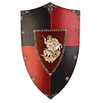 Wooden Shield of St George / Black Prince AG871
