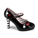 Womens Red Queen Heels