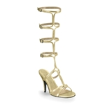 Athena's Gold Sandals 34-1104