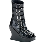 Bravo Wedge Buckle Boot 34-3014