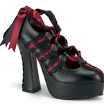 Demon Corset Platform Pumps 34-3063