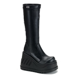 Stomp Wedge Platform Knee Boots 34-3139