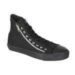 Deviant High Top Zipper Strap Sneakers 34-3206
