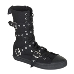 Deviant Eyelet Strap Sneaker Boots 34-3213