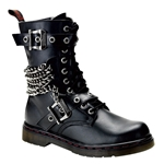 Disorder Gothic Combat Boots 34-3222