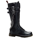 Disorder Extra Tall 2 Strap Combat Boots 34-3230