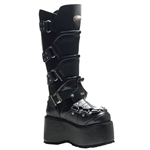 Wicked Alien Spine Platform Knee Boots 34-3291