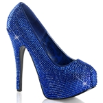 Teeze Jewel Tone Rhinestone Pumps