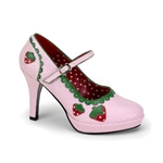 Strawberry Mary Janes