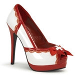 Nurse Peep Toe Pumps