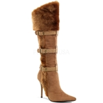 Ladies Viking High Heel Boots