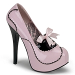 Teeze Patent Leather Platform Pumps 34-4294
