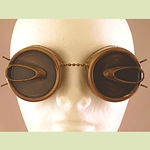 Steampunk Blackout Insect Goggles 35-2005
