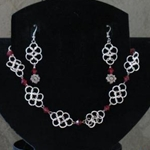 Katara Necklace & Earring Set 37-4084