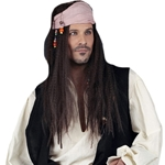 Deluxe Gypsy Pirate Wig 38-17855