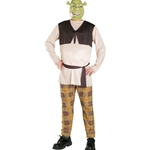 Shrek The Third Shrek Plus Adult Costume 38-31335