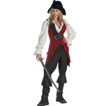 Pirates of the Caribbean - Elizabeth Pirate Deluxe Adult Costume 38-31521