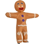 Shrek - Gingerbread Man Adult Costume 38-32088