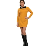 Star Trek Classic Gold Dress Deluxe Adult Costume 38-60288