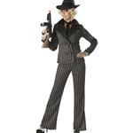 Gangster Lady Adult Costume 38-69115