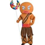 Shrek Forever After - Gingerbread Warrior Adult Costume 38-69309