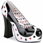 Queen of Hearts Heels Adult 38-69832